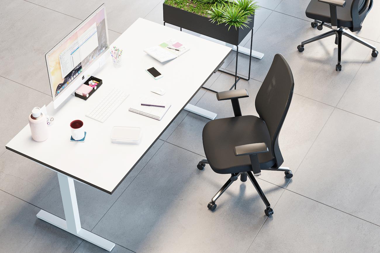 The benefits of height-adjustable desks