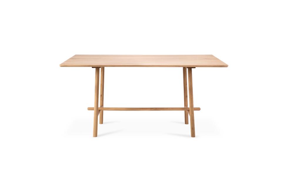 Oak Profile High Meeting Table