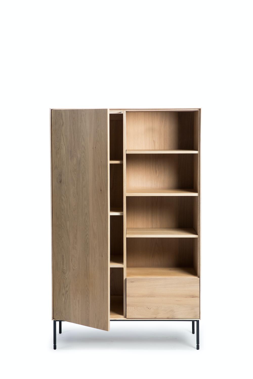 Oak Whitebird Storage Cupboard