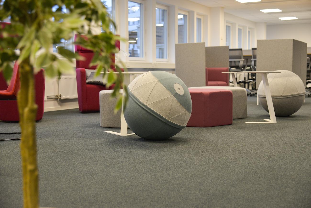 Haiken Office Furniture in Swedish Office