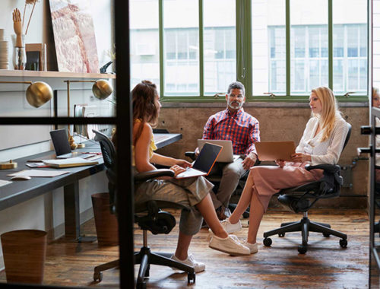 What are the 5 key elements to a good office design?
